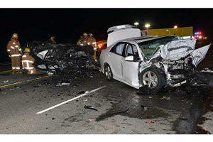 Head-on crash on Highway 126 photo - santa clarita car accident