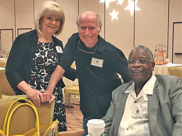 Linda & Stan Cockerell & Willie McTear photo - latest news of california