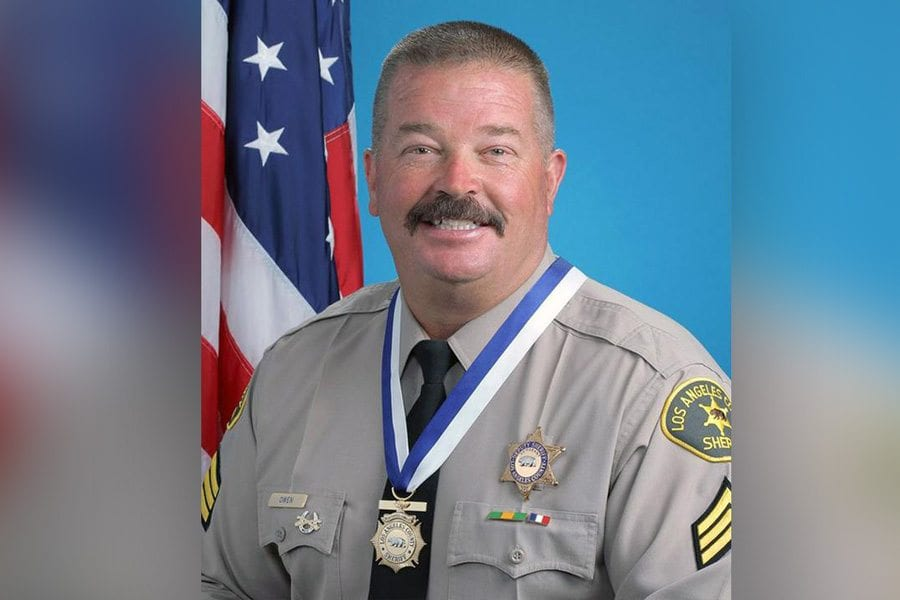 "Slain LASD sergeant remembered as hero, ""good cop"""