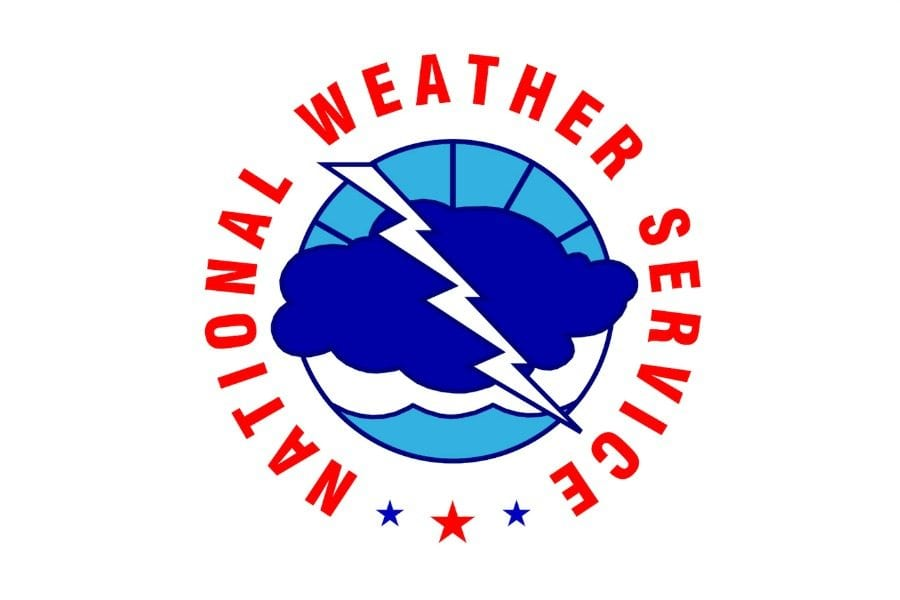 Wind and higher temperatures to start off the New Year