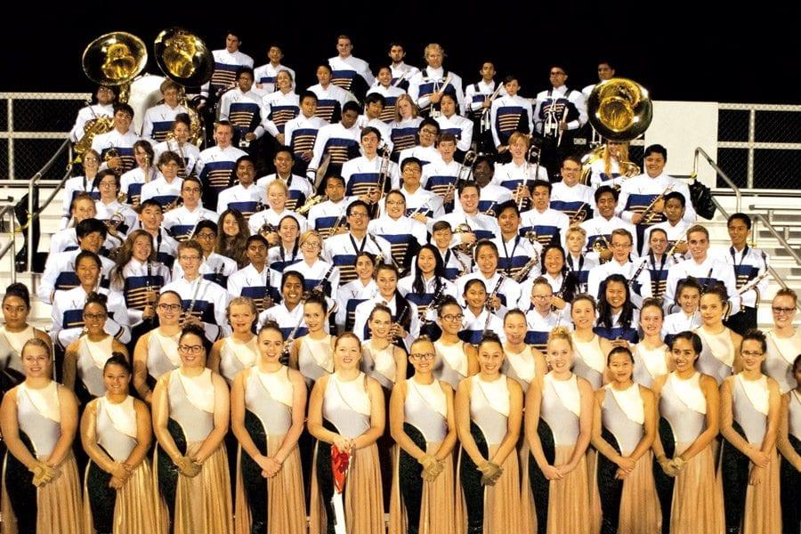 Valencia High School Marching Band Field Show – Santa
