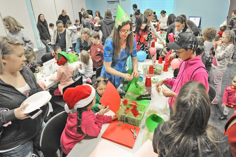 Canyon Country Library hosts Elf Ball for children