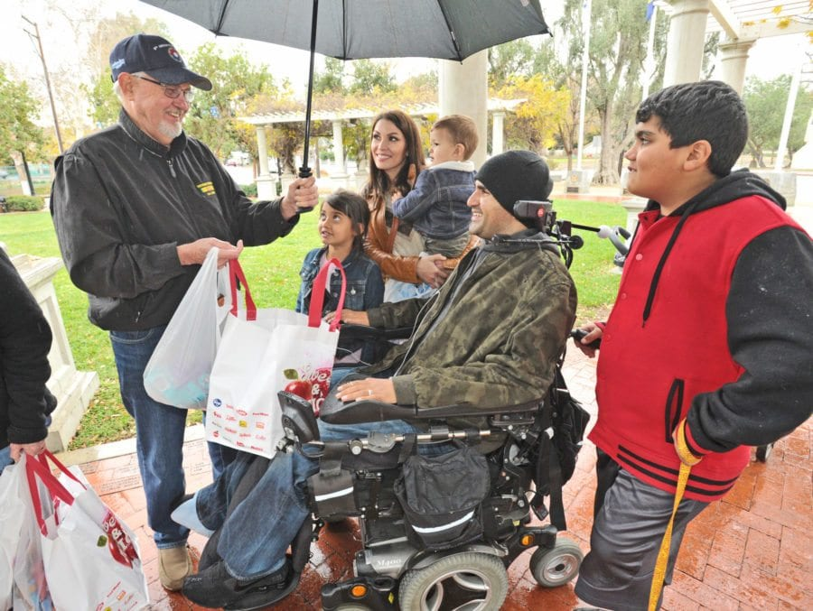 West Ranch High School co-workers donate money, gifts to two