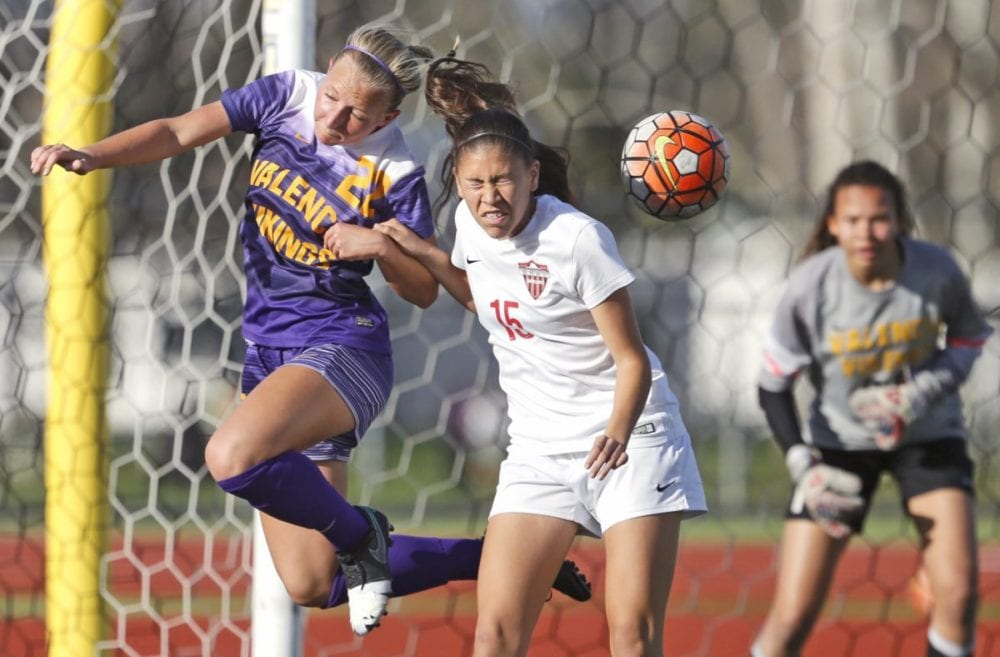 Hart girls soccer prepping for future in semifinal game vs. Mater Dei