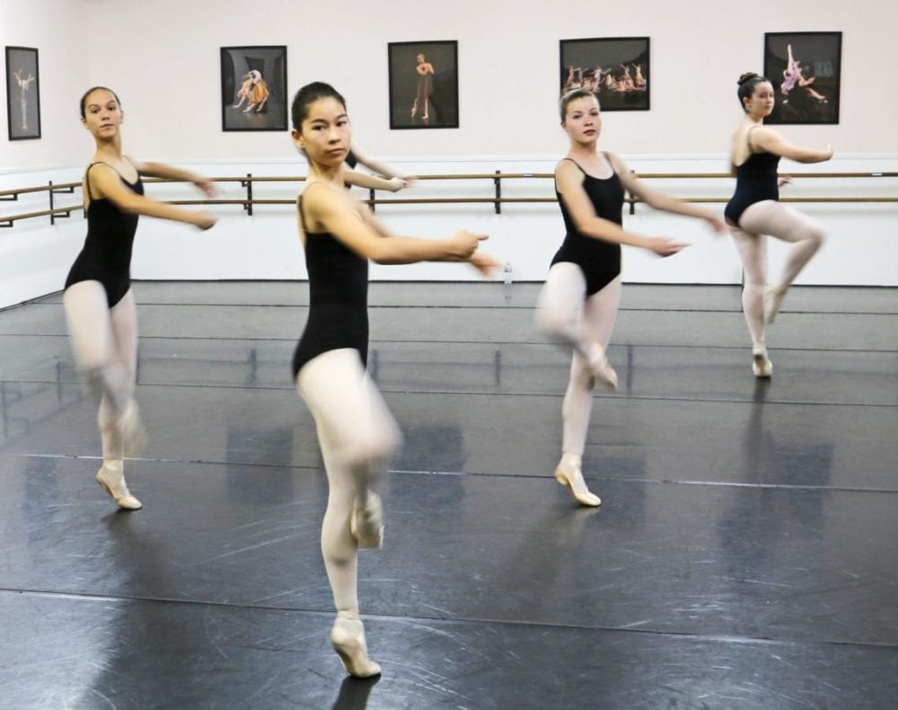 Local dance studio teaches life lessons through ballet instruction