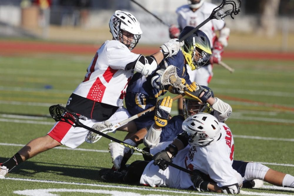 Hart boys lacrosse wins with offensive power
