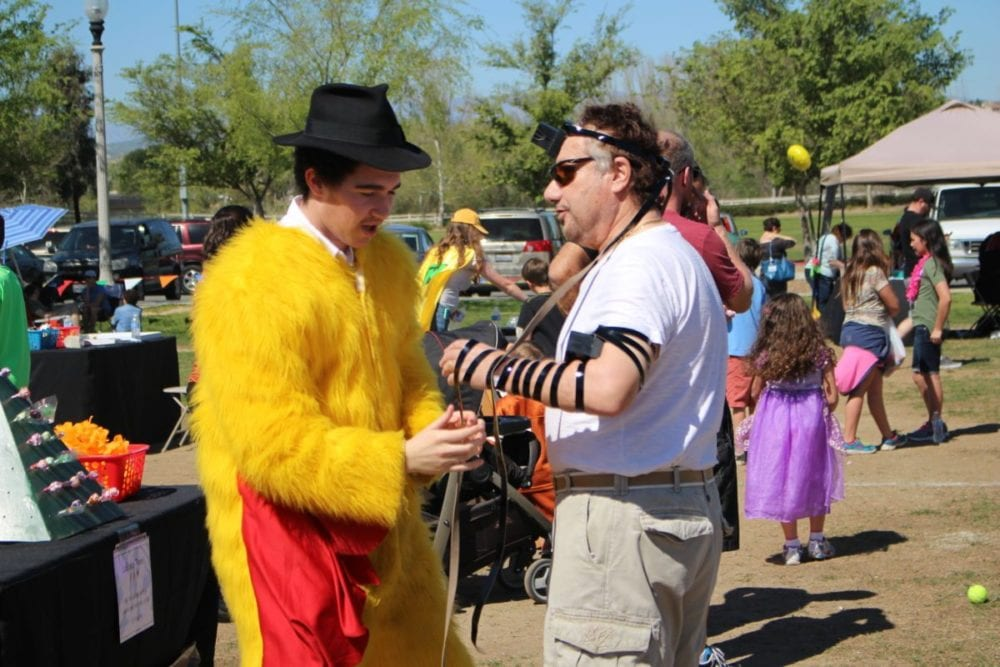 Jewish congregations join Purim carnival