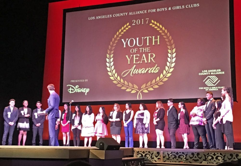 SCV Boys and Girls Club member recognized at Youth of the Year Awards