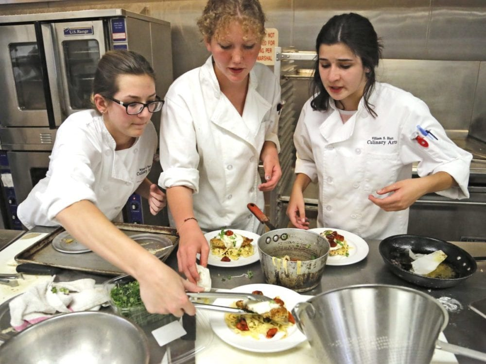 High schoolers show off skills in culinary competition