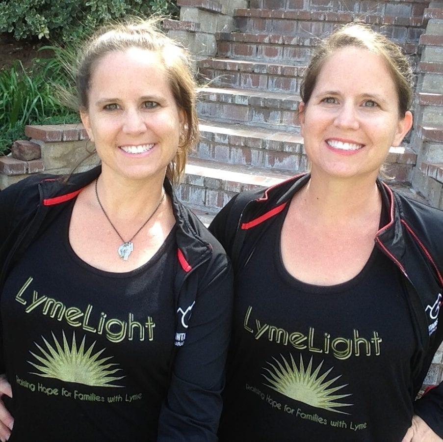 Twin sisters run marathon to raise awareness for Lyme disease, PANDAS