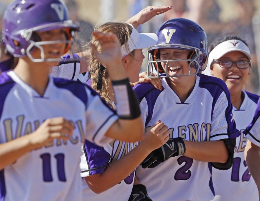 Foothill softball roundup: Valencia earns share of Foothill title