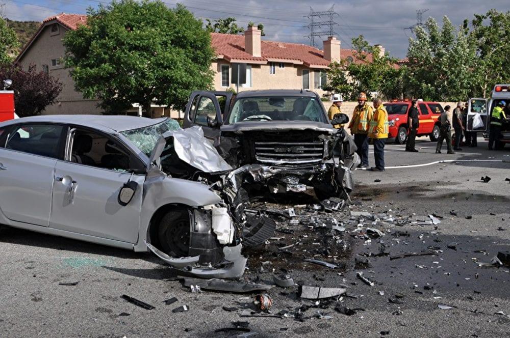 Head-on collision leaves at least one injured