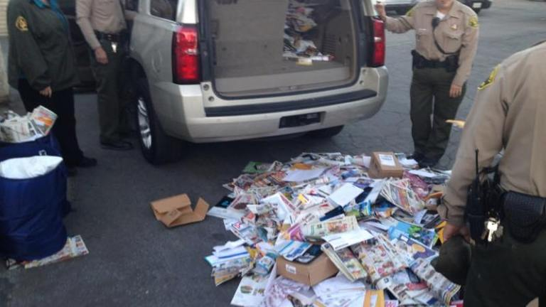 Mail thieves spotted, nabbed by deputies