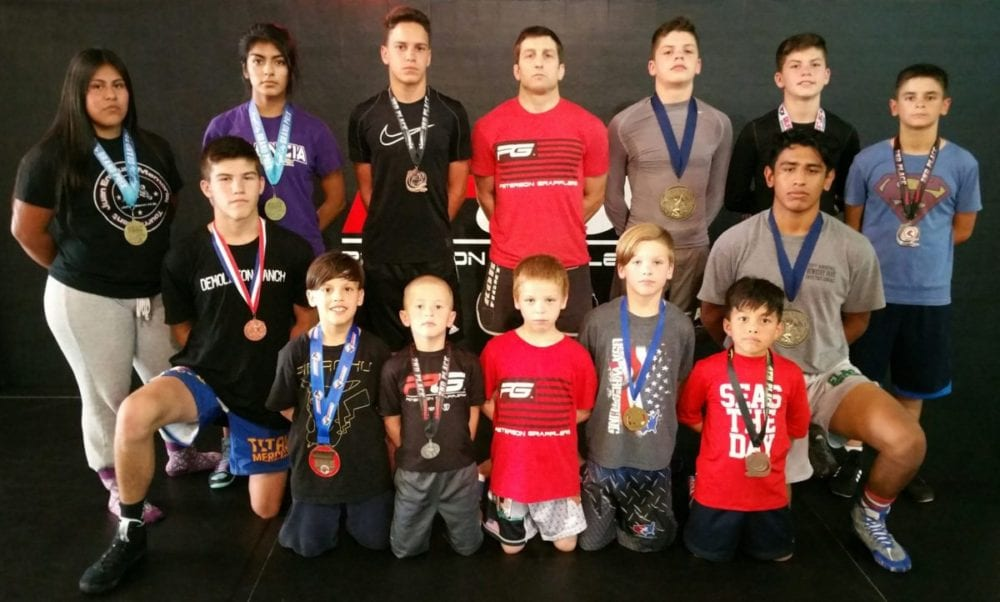 It's Raining Medals for SCV Youth Wrestling