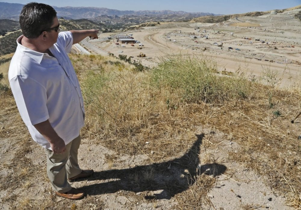 Construction is underway at Castaic High School site