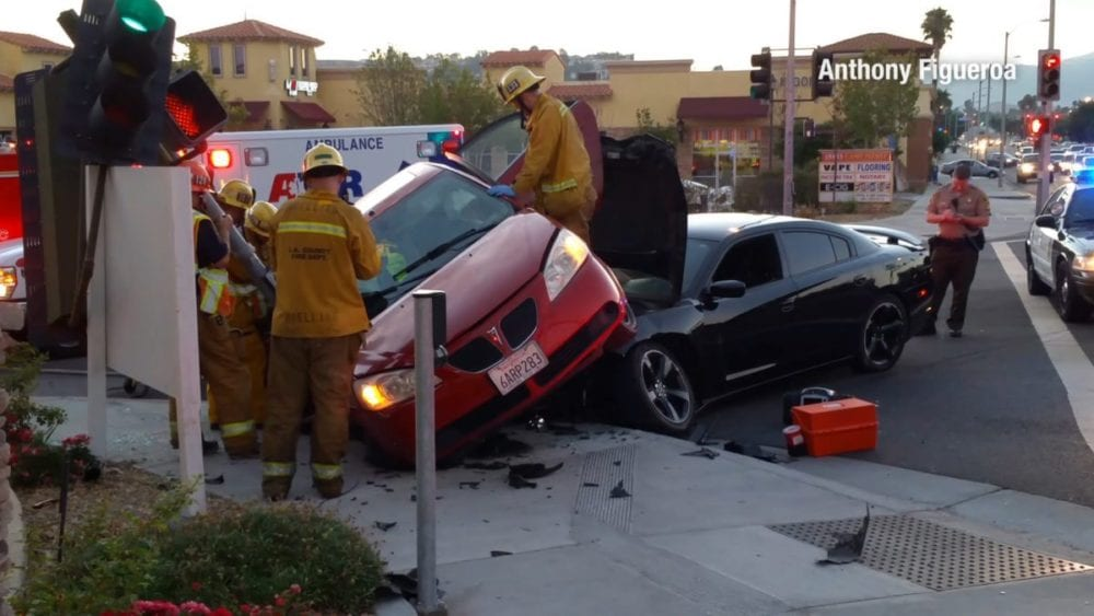 Driver arrested for DUI following two-car crash in Canyon