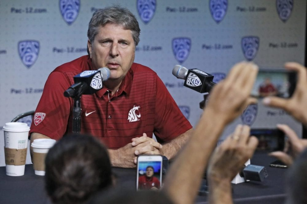 Pac-12 Media Days: Leach is a treat every time