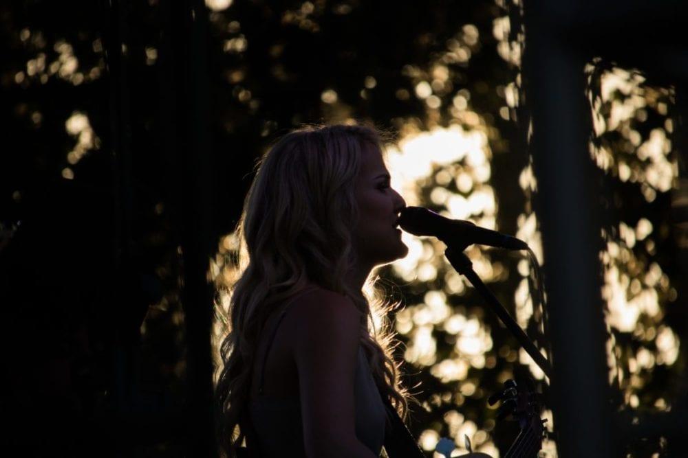 Petula Clark at The Canyon with SCV's Very Own Savannah Burrows