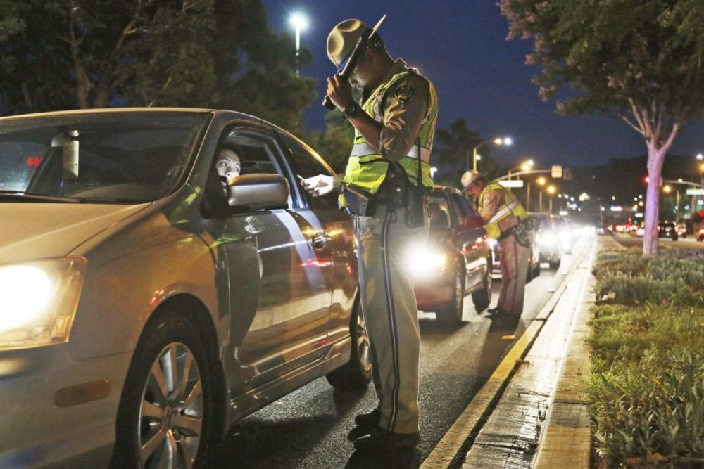 13 suspected drunk SCV drivers over New Years