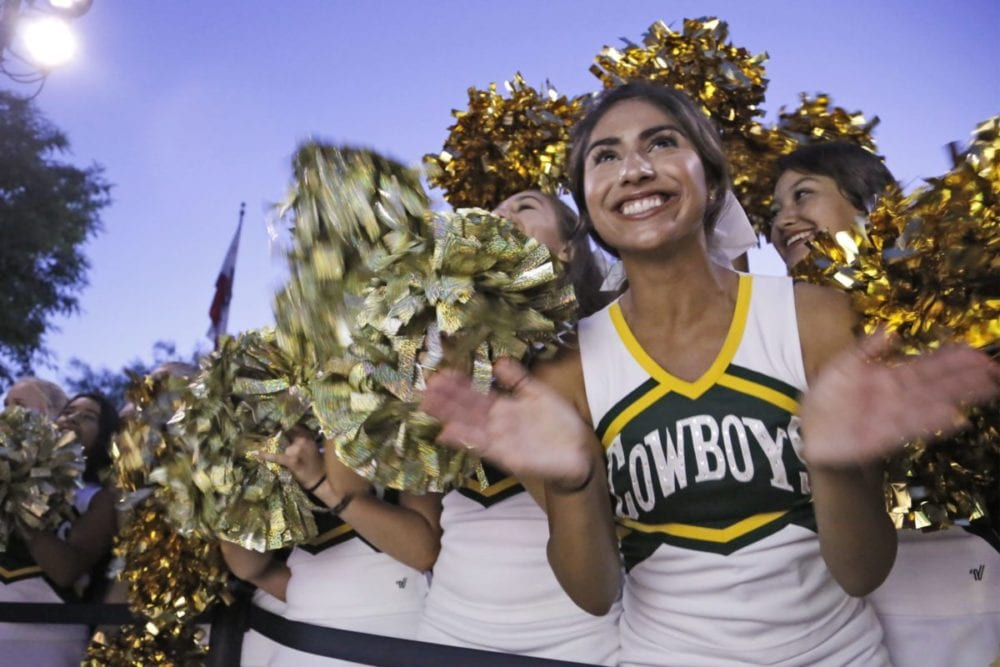 SCV high school cheer teams hold virtual tryouts