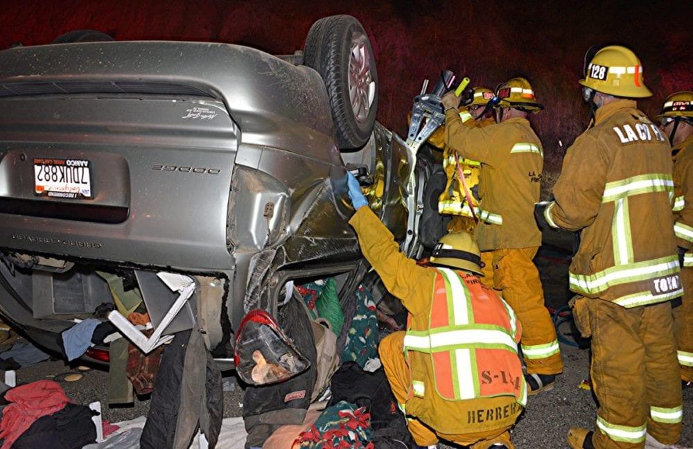 Santa Clarita Physical Rescue Crash Photo by Rick McClure6