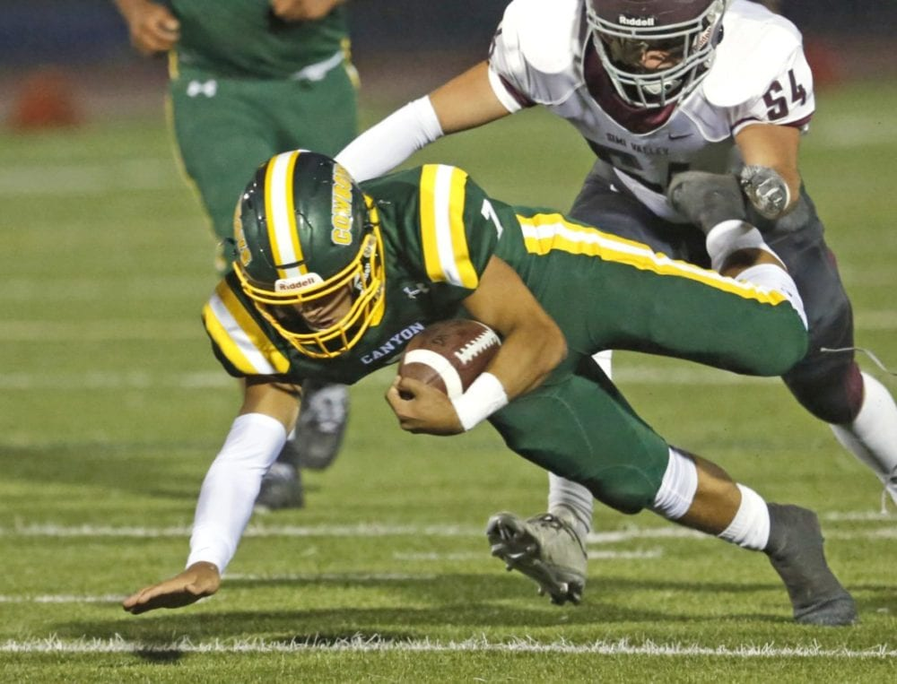 Fiery QB Shawn Gallagher leading Canyon football to solid start