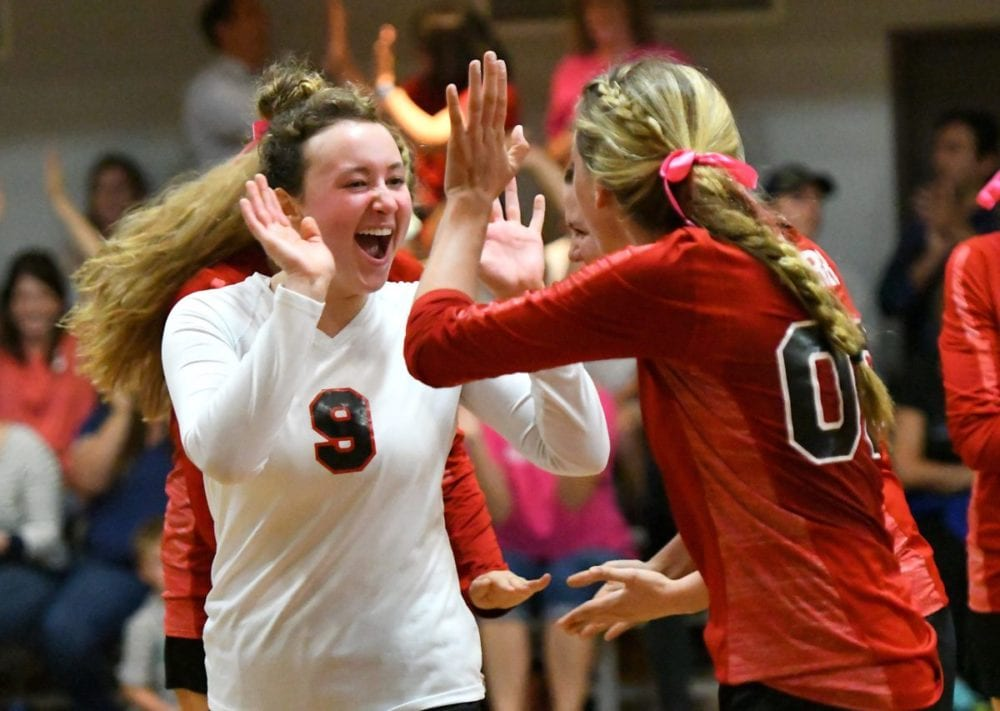 SCCS volleyball continues stellar season with win over Trinity