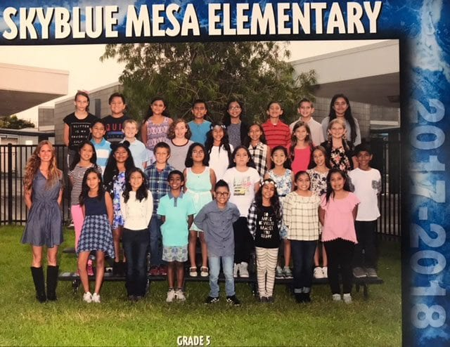 Robyn Ortiz of Skyblue Mesa Elementary School. Courtesy Photo