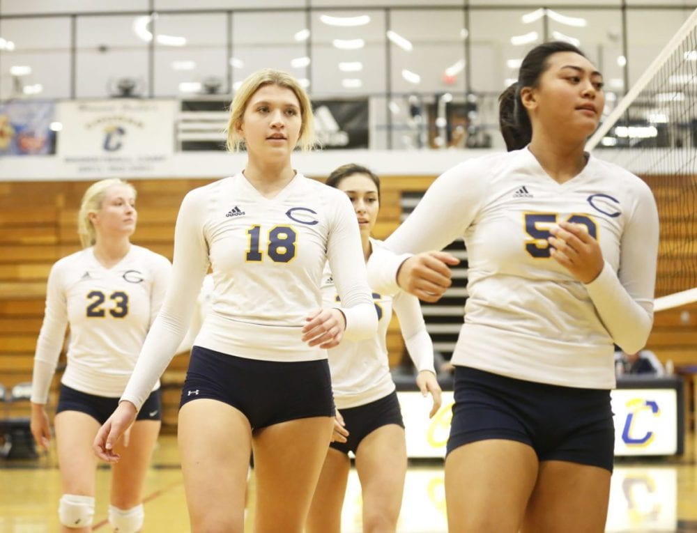 COC volleyball ends season with memorable trip to state tournament