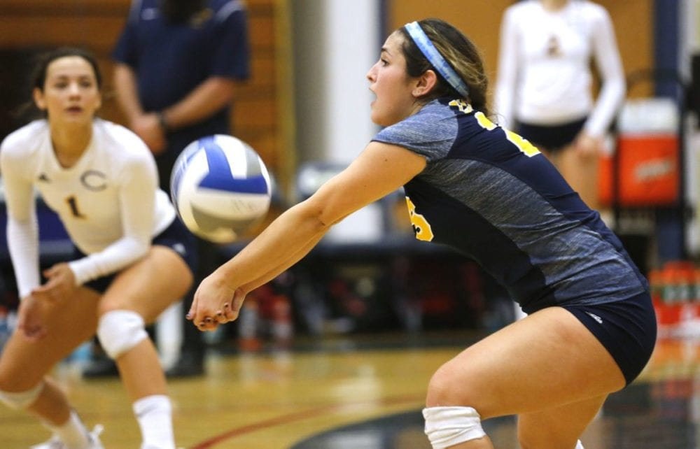Valencia alums pick each other up in COC volleyball loss