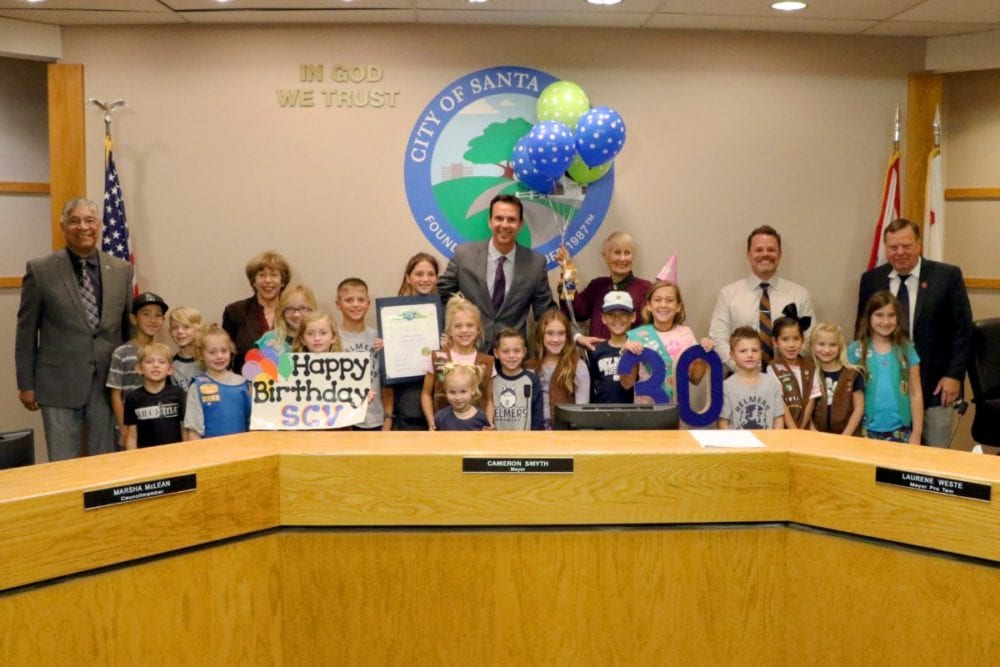 Charles Helmers Elementary students give to charity, win city contest