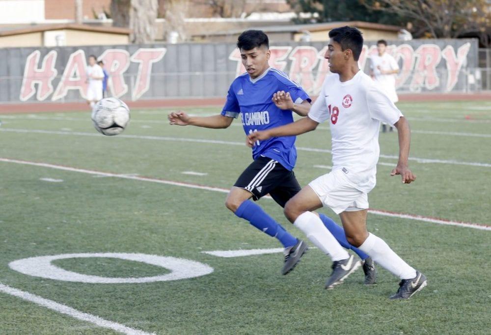 Hart boys soccer stumbles at home