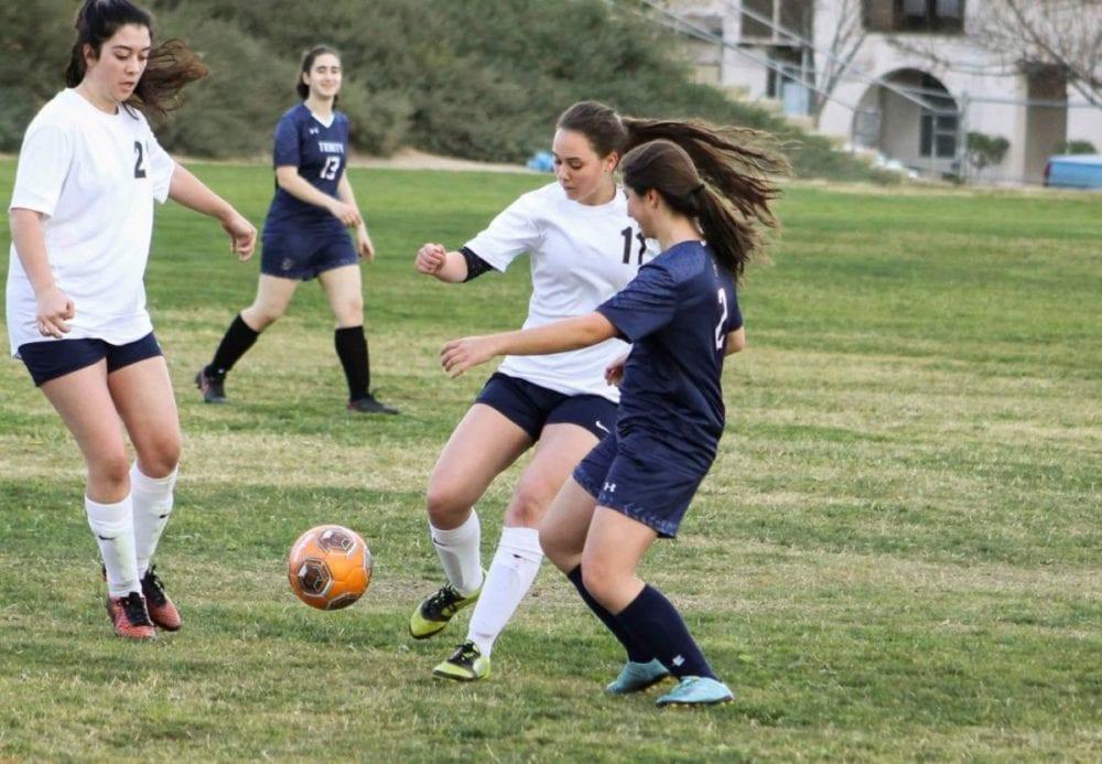 SCVi girls soccer picks up first-ever win over Trinity