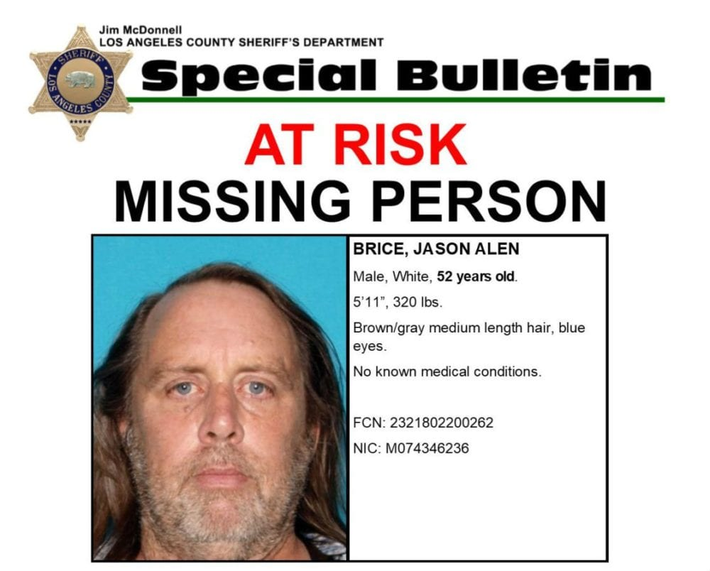 The Santa Clarita Valley Signal  Missing Person Picture