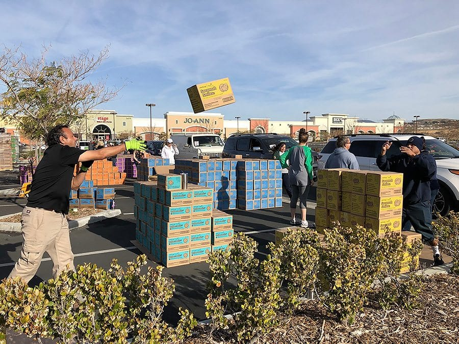 girl scout cookie season kicks off in scv santa clarita