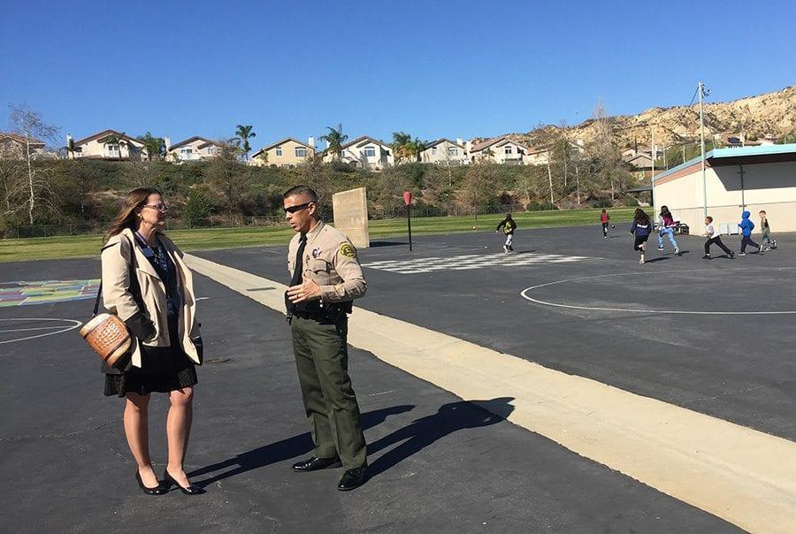 Castaic district, SCV Sheriff discuss campus safety