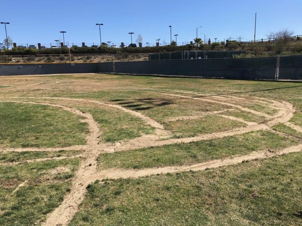 Teen, 17, accused of vandalism in joyride at baseball park