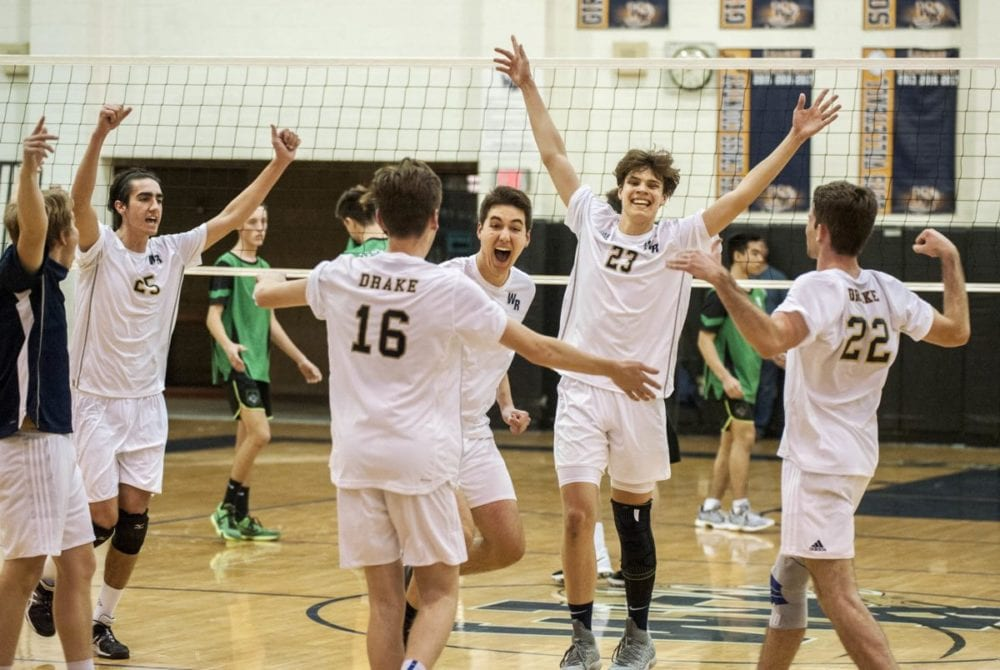 West Ranch boys volleyball earns Foothill League win against Valencia