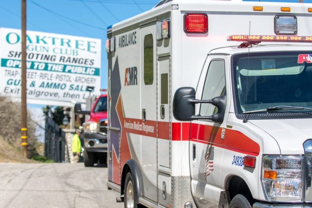 UPDATE: Woman shot at gun club, remains in hospital
