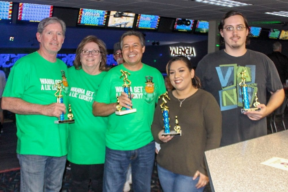 Bowling team winners at the event. Photo Courtesy: Taylor Kellstrom