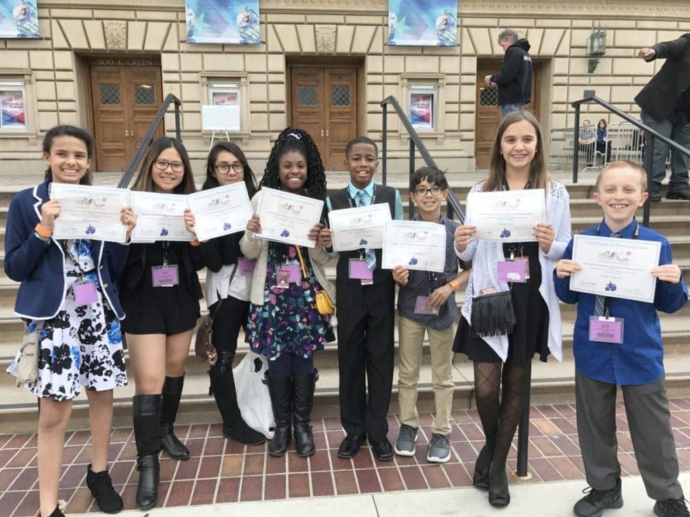 Albert Einstein students compete at LA County Science and Engineering Fair