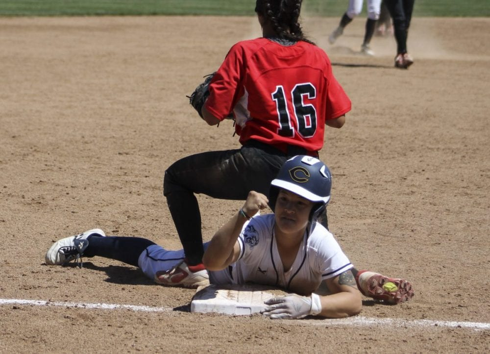 COC softball cruises past Santa Barbara