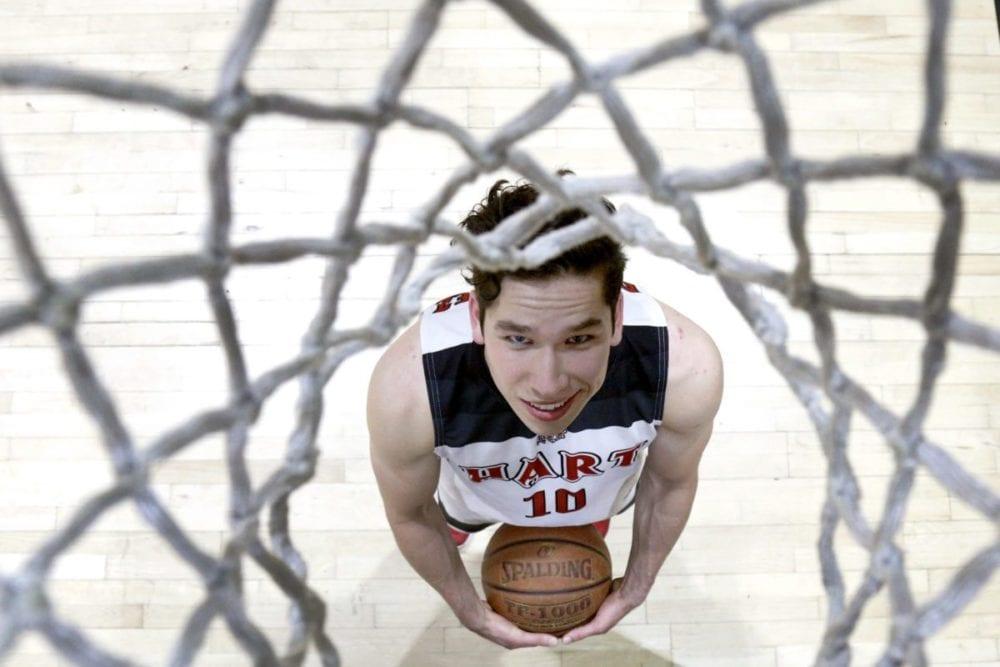 Hart basketball's Whitten Dominguez. Katharine Lotze/For the Signal