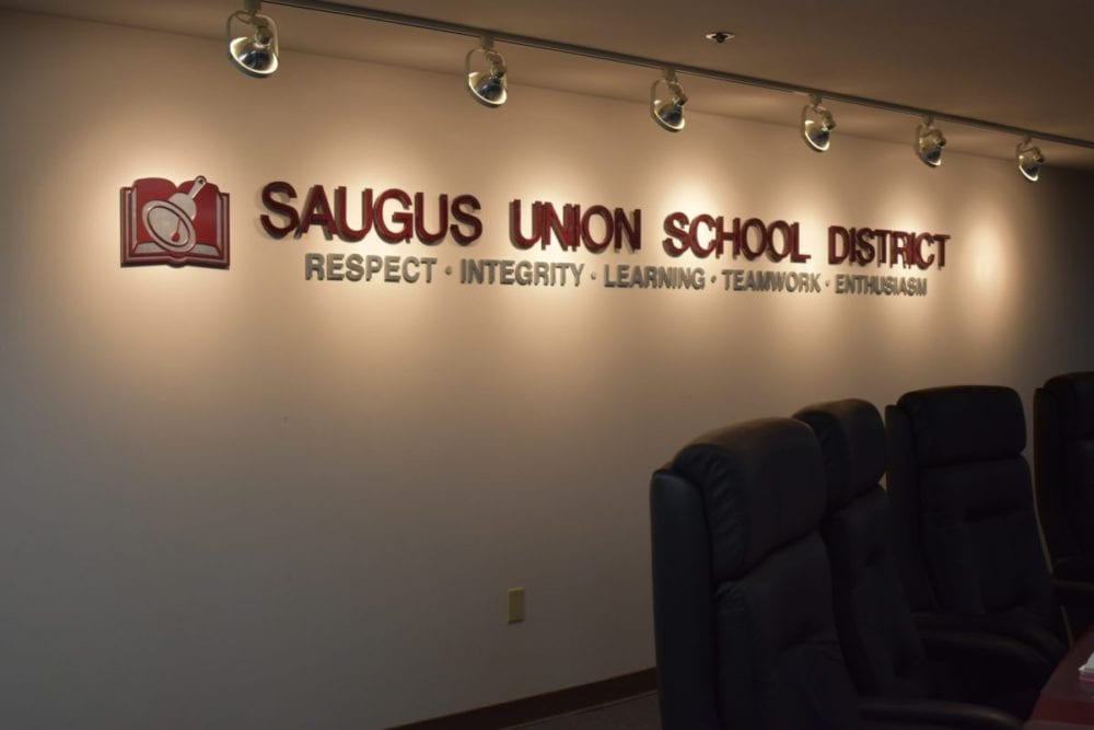 Saugus board set to discuss CAASPP results, learning disabilities and construction projects