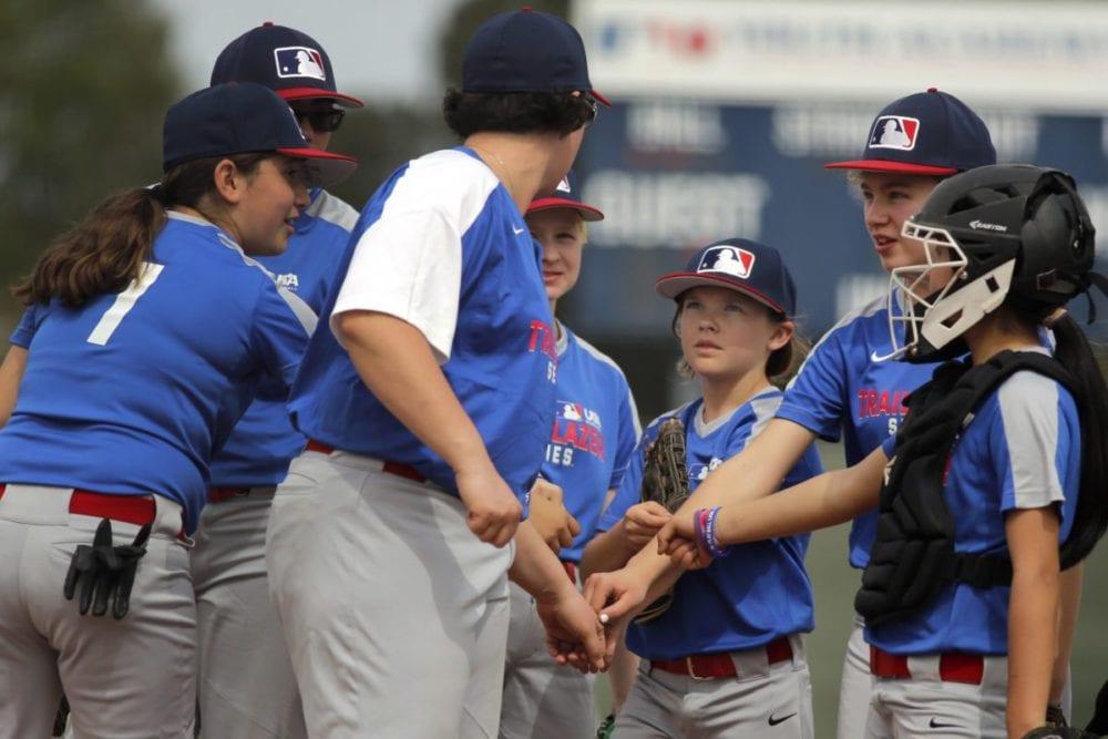 "Local baseball player participates in all-girls ""Trailblazer Series"""