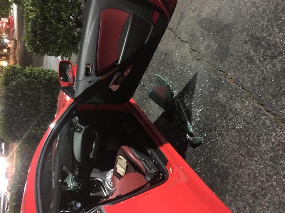 052718 Assm. Lackey car burglarized