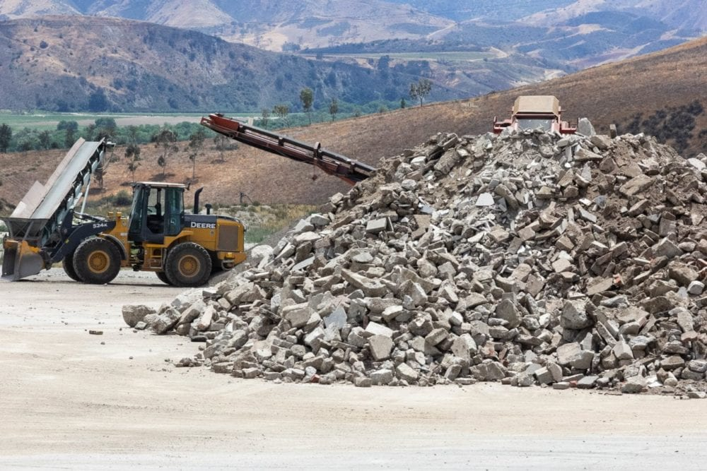 Chiquita Canyon Landfill. Eddy Martinez/The Signal.
