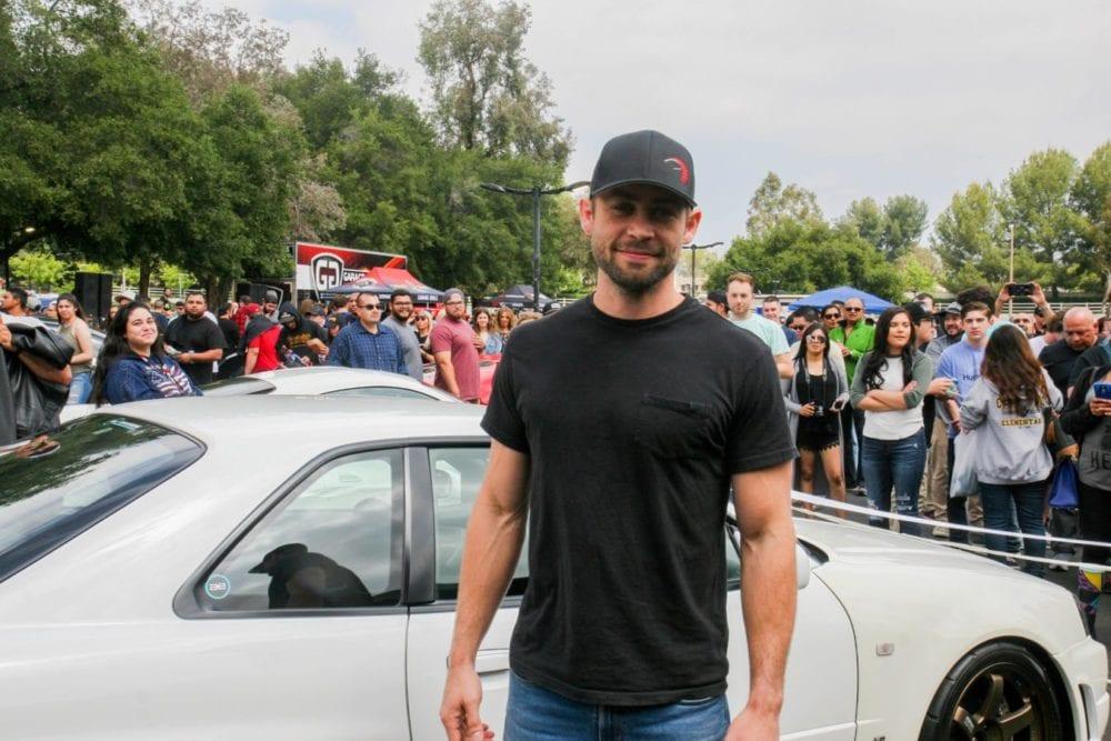 Cody Walker Pauls Brother At The First In Memory Of Paul Car Hangout Skylar Barti Signal