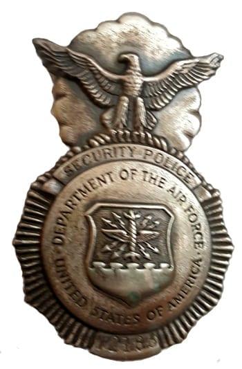 Angela M. Fatta Police Badge