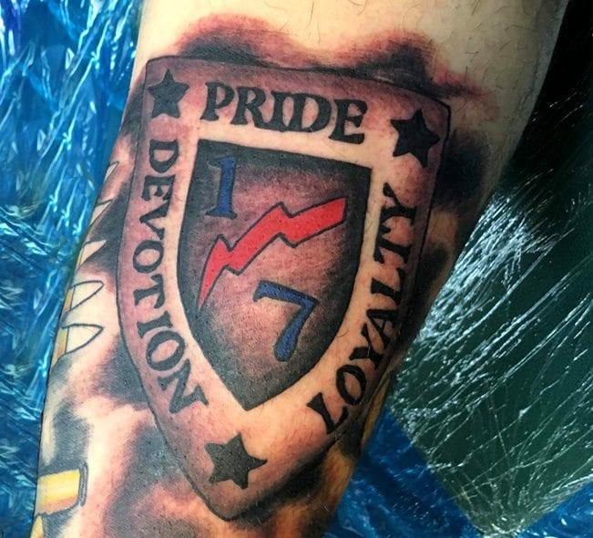 Matthew J. Funicello Tattoo